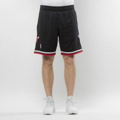 Swingman Shorts Mitchell & Ness Chicago Bulls Black