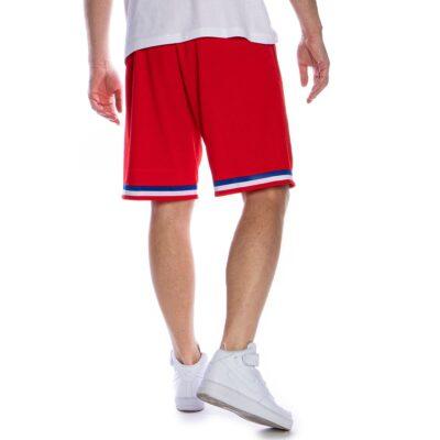 Swingman Shorts Mitchell & Ness Philadelphia 76ers red 1