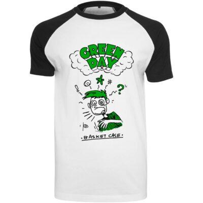 Tricou Green Day Basket Raglan