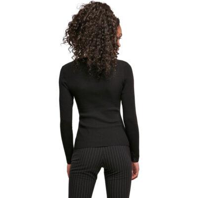 Bluza Urban Classics Wide Neckline Black 1