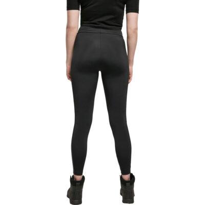 Pantaloni Urban Classics Highwaist Shiny Stripe 1