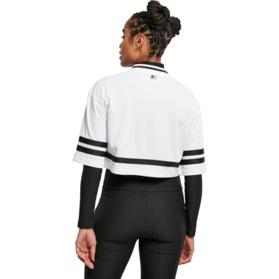Tricou Starter Cropped Mesh Jersey White 1